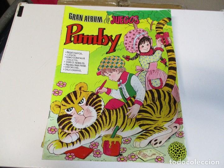 GRAN ALBUM DE JUEGOS PUMBY Nº 2 (Tebeos y Comics - Valenciana - Pumby)