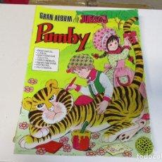 Tebeos: GRAN ALBUM DE JUEGOS PUMBY Nº 2. Lote 205072106