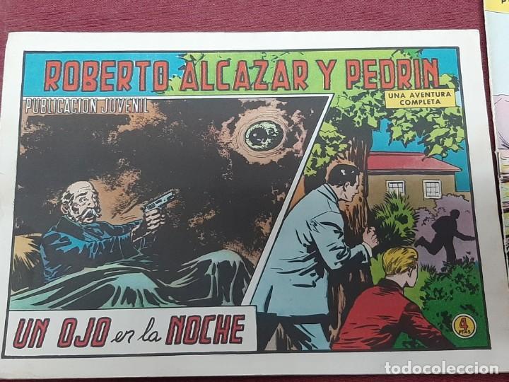 Tebeos: 3 TEBEOS ROBERTO ALCAZAR Y PEDRIN..Nº 132, 133 (1978) Y 1105 (1973) - Foto 3 - 205072586