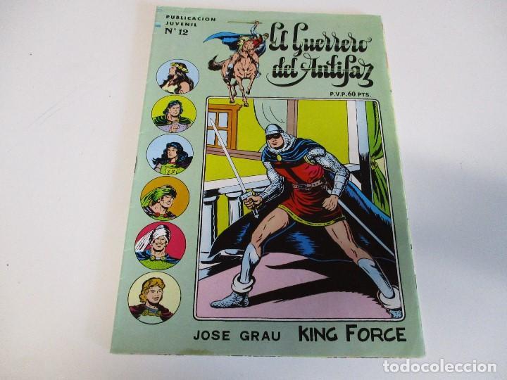 EL GUERRERO DEL ANTIFAZ NUEVAS AVENTURAS Nº 12 EDITA VALENCIANA (Tebeos y Comics - Valenciana - Guerrero del Antifaz)
