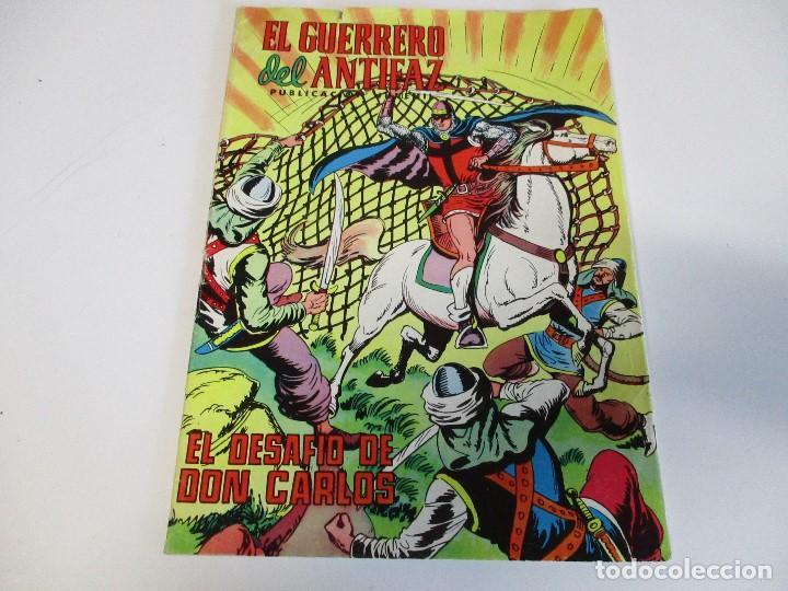 EL GUERRERO DEL ANTIFAZ Nº 212 EL DESAFÍO DE DON CARLOS VALENCIANA 1976 (Tebeos y Comics - Valenciana - Guerrero del Antifaz)