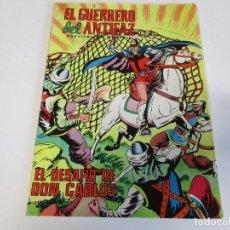 Tebeos: EL GUERRERO DEL ANTIFAZ Nº 212 EL DESAFÍO DE DON CARLOS VALENCIANA 1976. Lote 205073433