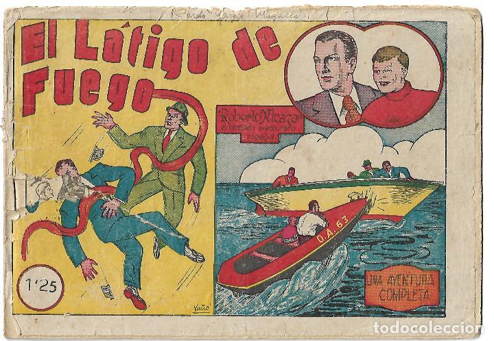 ROBERTO ALCAZAR NUM 8 - ORIGINAL (Tebeos y Comics - Valenciana - Roberto Alcázar y Pedrín)