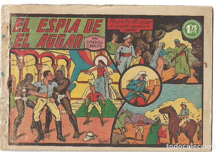 ROBERTO ALCAZAR NUM 16 - ORIGINAL (Tebeos y Comics - Valenciana - Roberto Alcázar y Pedrín)