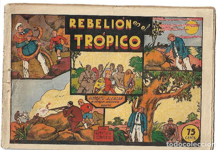 ROBERTO ALCAZAR NUM 25 - ORIGINAL (Tebeos y Comics - Valenciana - Roberto Alcázar y Pedrín)