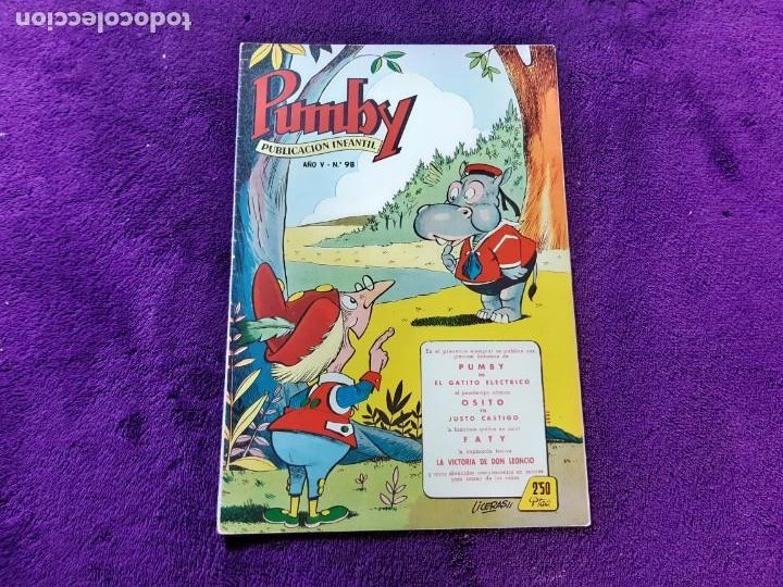 PUMBY Nº 98 EXCELENTE ESTADO (Tebeos y Comics - Valenciana - Pumby)
