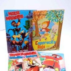Livros de Banda Desenhada: ADAPTACIONES GRÁFICAS DE CUENTOS CLÁSICOS 1 A 4. COMPLETA (SORIANO IZQUIERDO / KARPA / CARTUS / MOSQ. Lote 205281943