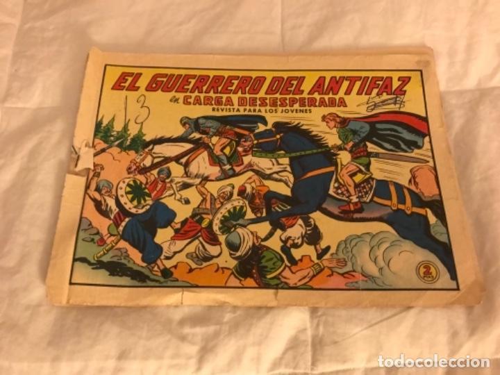 EL GUERRERO DEL ANTIFAZ EN CARGA DESESPERADA NÚMERO 632 (Tebeos y Comics - Valenciana - Guerrero del Antifaz)