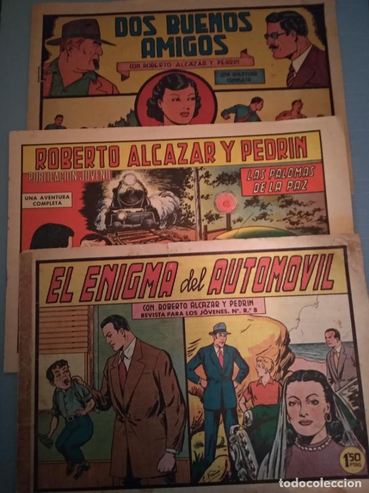 ROBERTO ALCAZAR Y PEDRIN - 3 EJEMPLARES . NUMS. 198-367-788 (Tebeos y Comics - Valenciana - Roberto Alcázar y Pedrín)