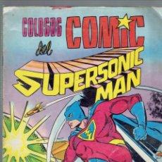 Tebeos: COLOSOS DEL COMIC SUPERSONIC MAN EN EL REGRESO DEL DR.GULK EDITORIAL VALENCIANA. Lote 205744202