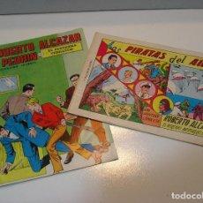 Tebeos: ROBERTO ALCAZAR Y PEDRIN EDITORIAL VALENCIANA LOTE DE 2 COMICS. Lote 206191517