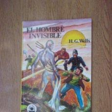 Tebeos: LIBROS GRAFICOS - EL HOMBRE INVISIBLE Nº10 - H.G.WELLS.. Lote 206227852
