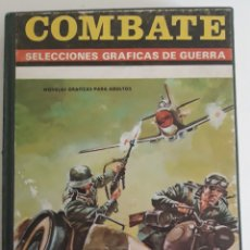 Tebeos: COMBATE SELECCIONES GRAFICAS DE GUERRA TOMO ENCUADERNADO 1972. Lote 206276395