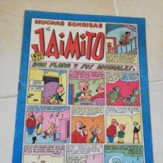 Tebeos: MUCHAS SONRISAS DE JAIMITO N°140 EDITORIAL VALENCIANA. Lote 206460123