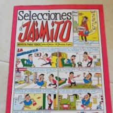 Tebeos: SELECCIÓNES DE JAIMITO REVISTA PARA TODOS, AÑOII, N°19. Lote 206462010