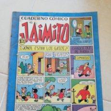 Tebeos: CUADERNO CÓMICO DE JAIMITO N°138 EDITORIAL VALENCIANA. Lote 206463026