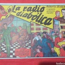 Tebeos: ROBERTO ALCÁZAR N°5 - FACSÍMIL - LA RADIO DIABÓLICA. Lote 206470762