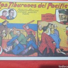 Tebeos: ROBERTO ALCÁZAR N°7 - FACSÍMIL - LOS TIBURONES DEL PACÍFICO. Lote 206471250