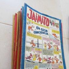 Tebeos: JAIMITO N°435-201-156-193-155-177-175-579-400-508-556-564-325-373-458-376-300-465-416-187-232-354. Lote 206517987