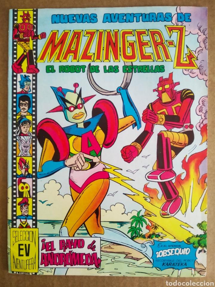 NUEVAS AVENTURAS DE MAZINGER-Z: EL ROBOT DE LAS ESTRELLAS N°12/SELECCIÓN AVENTURERA VALENCIANA, 1979 (Tebeos y Comics - Valenciana - Selección Aventurera)