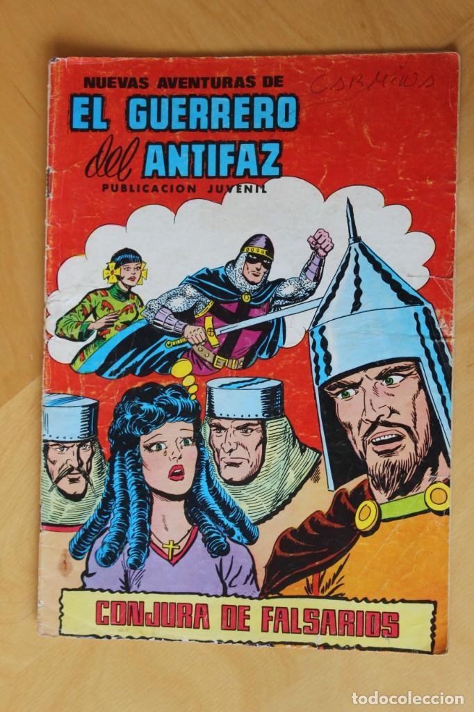 Tebeos: El Guerrero del Antifaz - Nº 30 y Nº 312 - Foto 2 - 206876165