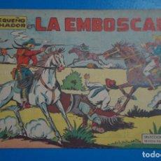 Tebeos: CÓMIC DE EL PEQUEÑO LUCHADOR LA EMBOSCADA Nº 10 AÑO 1960 DE EDITORIAL VALENCIANA ****LOTE 10 F. Lote 206895277