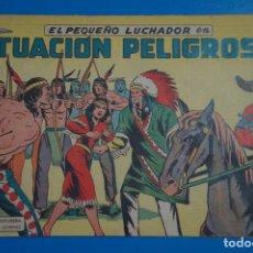 Tebeos: CÓMIC DE EL PEQUEÑO LUCHADOR SITUACION PELIGROSA Nº 12 AÑO 1960 DE EDIT. VALENCIANA ****LOTE 10 F. Lote 206895360