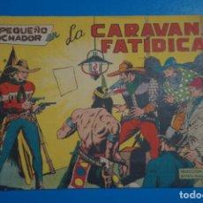 Tebeos: CÓMIC DE EL PEQUEÑO LUCHADOR CARAVANA FATIDICA Nº 22 AÑO 1960 DE EDITORIAL VALENCIANA ****LOTE 10 F. Lote 206895440