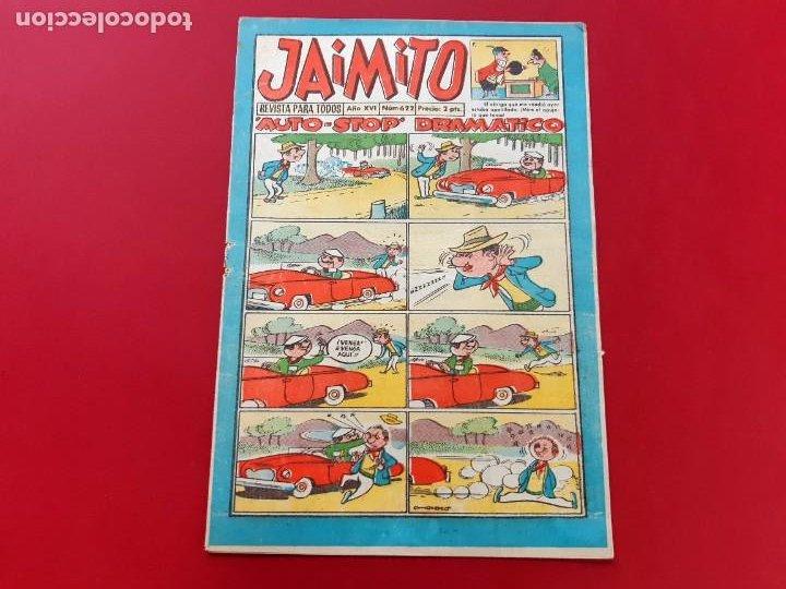 JAIMITO Nº 622 EXCELENTE ESTADO (Tebeos y Comics - Valenciana - Jaimito)