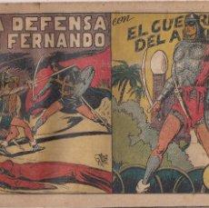 Tebeos: EL GUERRERO DEL ANTIFAZ Nº 60: LA DEFENSA DE FERNANDO. Lote 206987211