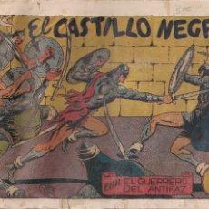 Tebeos: EL GUERRERO DEL ANTIFAZ Nº 61: EL CASTILLO NEGRO. Lote 206987271