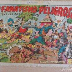Tebeos: EL GUERRERO DEL ANTIFAZ Nº 436. FANATISMO PELIGROSO. ORIGINAL. VALENCIANA. Lote 207015227