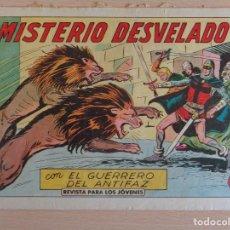 Tebeos: EL GUERRERO DEL ANTIFAZ Nº 409. MISTERIO DESVELADO. ORIGINAL. VALENCIANA. Lote 207015351