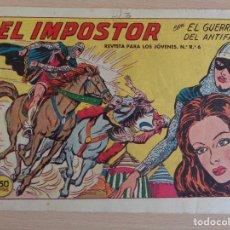 Tebeos: EL GUERRERO DEL ANTIFAZ Nº 321. EL IMPOSTOR. ORIGINAL. VALENCIANA. Lote 207015455