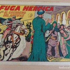 Tebeos: EL GUERRERO DEL ANTIFAZ Nº 219. FUGA HEROICA. ORIGINAL. VALENCIANA. Lote 207015550