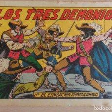 Tebeos: EL ESPADACHÍN ENMASCARADO Nº 70. LOS TRES DEMONIOS. ORIGINAL. VALENCIANA. Lote 207015728