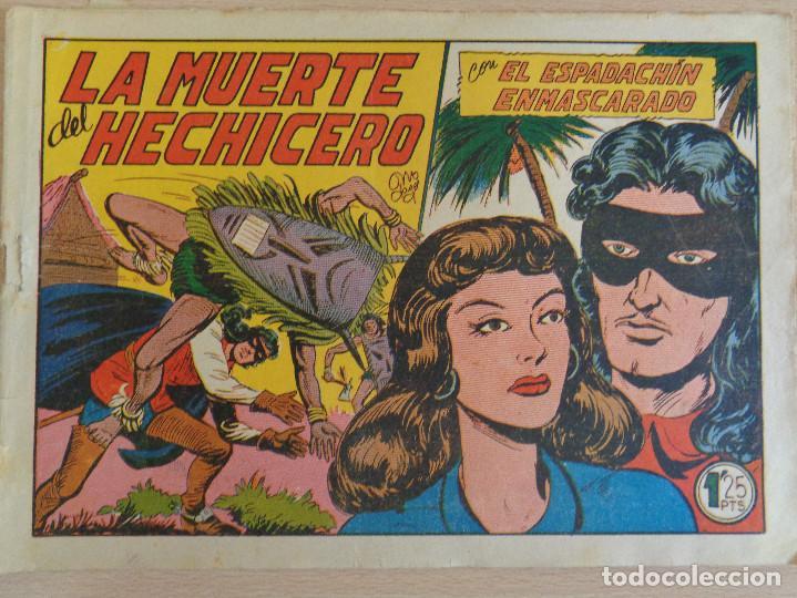 EL ESPADACHÍN ENMASCARADO Nº 95. LA MUERTE DEL HECHICERO. ORIGINAL. VALENCIANA (Tebeos y Comics - Valenciana - Espadachín Enmascarado)