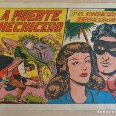 Tebeos: EL ESPADACHÍN ENMASCARADO Nº 95. LA MUERTE DEL HECHICERO. ORIGINAL. VALENCIANA. Lote 207015983