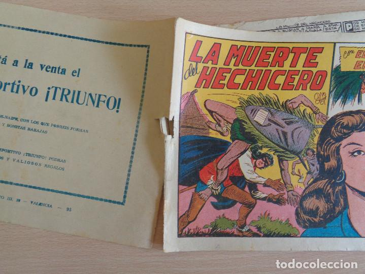 Tebeos: El Espadachín Enmascarado Nº 95. la muerte del hechicero. Original. Valenciana - Foto 2 - 207015983
