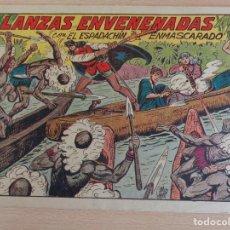 Tebeos: EL ESPADACHÍN ENMASCARADO Nº 116. LANZAS ENVENENADAS. ORIGINAL. VALENCIANA. Lote 207016177