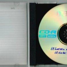 Tebeos: CD DE EL GUERRERO DEL ANTIFAZ: DRAMATIZACION RADIOFONICA DE EL OJO DE FUEGO. 1982. Lote 207017138