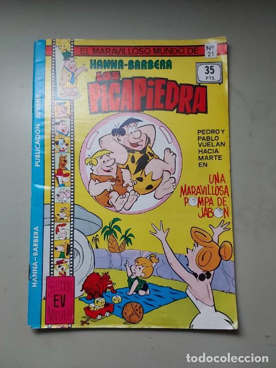 COMIC TEBEO LOS PICAPIEDRA Nº 21. HANNA-BARBERA. 1979. EDITORIAL VALENCIANA. (Tebeos y Comics - Valenciana - Otros)