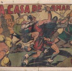 Tebeos: EL GUERRERO DEL ANTIFAZ Nº 76: LA CASA DE OMAR. Lote 207085165