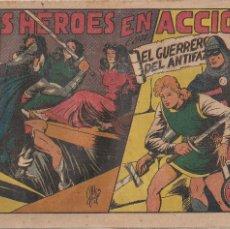 Tebeos: EL GUERRERO DEL ANTIFAZ Nº 78: DOS HEROES EN ACCION. Lote 207085471