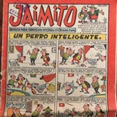 Tebeos: JAIMITO. Lote 207159947