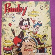 Tebeos: TEBEO PUMBY AÑO V - Nº116 EL REINO MUSICAL ED. VALENCIANA. Lote 207167222