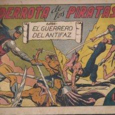 Tebeos: EL GUERRERO DEL ANTIFAZ Nº 85: LA DERROTA DE LOS PIRATAS. Lote 207192870