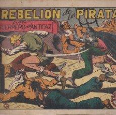 Tebeos: EL GUERRERO DEL ANTIFAZ Nº 87: LA REBELION DE LOS PIRATAS. Lote 207192982