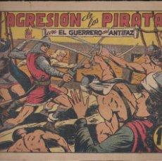 Tebeos: EL GUERRERO DEL ANTIFAZ Nº 89: LA AGRESION DE LOS PIRATAS. Lote 207193196