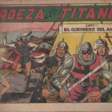 Tebeos: EL GUERRERO DEL ANTIFAZ Nº 90: PROEZA DE TITANES. Lote 207193301